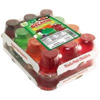 Jilly's, Gelatin Sugar-Free Variety Black-Cherry, Orange, Lemon-Lime, Strawberry, 3.25 Oz., 24 Count