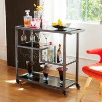 Holly & Martin Zephs Bar Cart, Grey