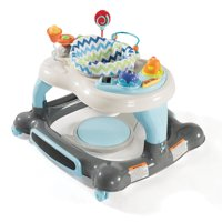 Storkcraft 3-in-1 Activity Walker and Rocker with Jumping Board Blue/Gray
