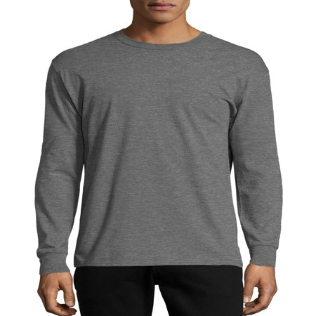 Hanes Long Sleeve Tee - Hanes Men's x-temp lightweight long sleeve t-shirt, up to size 3xl