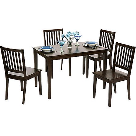 Shaker Dining Chairs, Set of 4, Espresso Antique Dining Tables Chairs