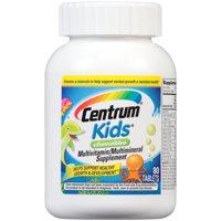 Centrum Kids Multivitamin Chewables, Cherry, Orange, & Fruit Punch Flavor, 80 ct