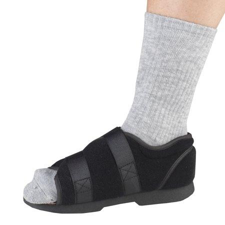 Medical Boot (OTC Women's Soft Top Post-Op Shoe, Black,)