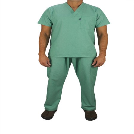Kolossus Men's Poly Cotton Medical Scrubs Set. (Poly Scrub)