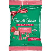Russell Stover Sugar-Free Strawberry Cream Covered in Chocolate Candy, 3 Oz.