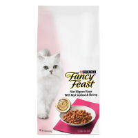 Fancy Feast Filet Mignon Flavor With Real Seafood & Shrimp Dry Cat Food, 7 lb