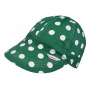 17d778befb5 Comeaux Caps 118-50712RED Polka Dot Short Crown Cap - Red