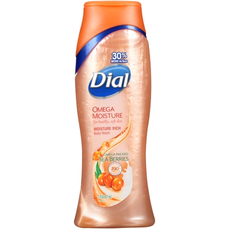 Dial Body Wash, Omega Moisture, 21 Ounce