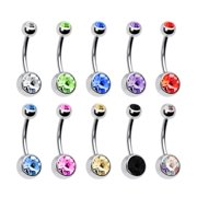 Double Belly Rings