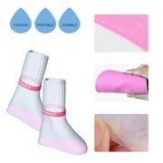 5e857e42f1939 Women Men Kids Rain Shoes Waterproof Snow Rain Boots Adult Shoes with Zipper  Closure for Outdoor