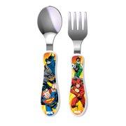 NUK® Justice League Dinnerware Utensil Set, Justice League, 2pk