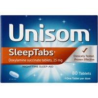Unisom SleepTabs Doxylamine succinate Tablets, 80 Ct