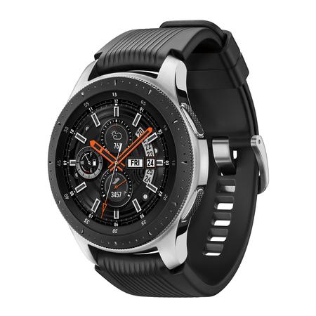 SAMSUNG Galaxy Watch - Bluetooth Smart Watch (46mm) - Silver - (Best Samsung Computer Watches)