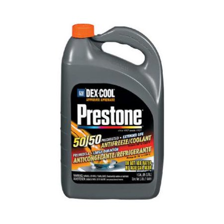Prestone Dex Cool Extended Life Antifreeze Coolant Quickfill 1
