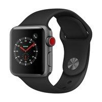 Apple Watch Series 3 - GPS+LTE - 38mm - Sport Band - Aluminum Case
