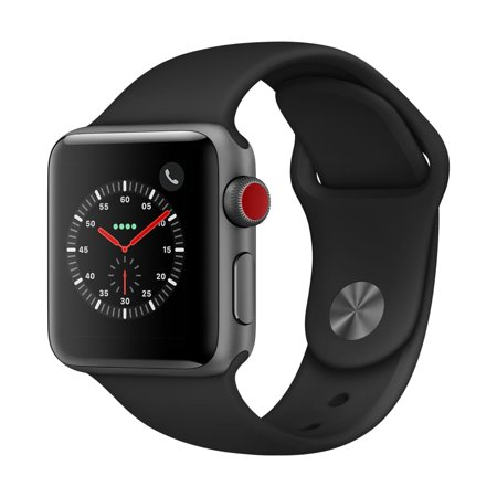 Series Personal Gps - Apple Watch Series 3 GPS + Cellular - 38mm - Sport Band - Aluminum Case