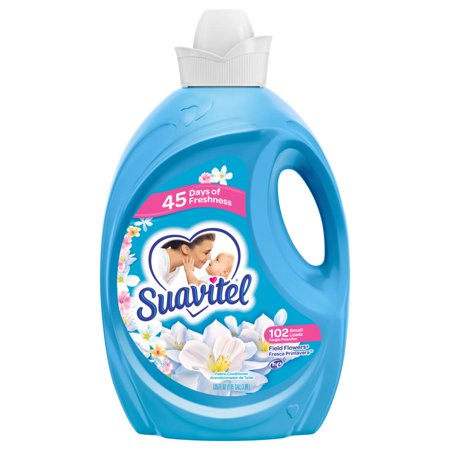 Fabric Softener (Suavitel Fabric Softener, Field Flowers - 135 fluid ounce )