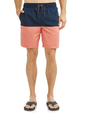 Men's All Guy Colorblock Short, up to Size 5XL