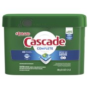 Cascade Complete ActionPacs, Dishwashing Detergent, Fresh Scent, 40 count