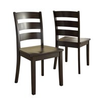 Lexington Ladder Back Dining Chair, Set of 2, Multiple Colors