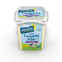 Carrington Farms Organic Coconut Oil & Ghee, Grass-Fed, 12 Oz