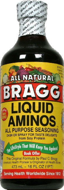 Bragg All Natural Liquid Aminos All Purpose Seasoning, 16 Fl Oz