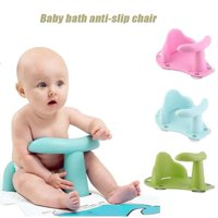 Antislip Safety tub Bath Seat Support Safety Chair Pad for Baby Toddler Child