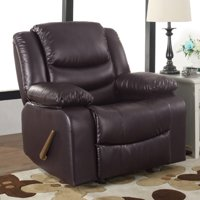 Madison Home USA Classic Overstuffed Manual Rocker Recliner