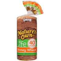 Nature's Own® Life 40 Calorie Honey Wheat Bread 16 oz. Bag