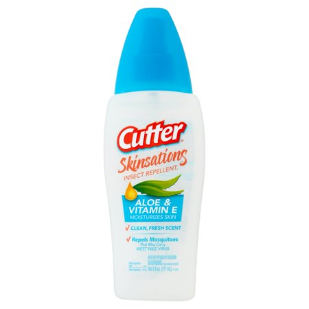 Cutter Skinsations Insect Repellent, Pump Spray, 6-fl oz