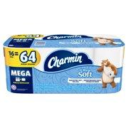 Charmin Ultra Soft Toilet Paper, 16 Mega Rolls