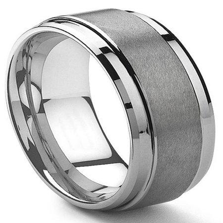 9mm Braided Wedding Band Ring (9MM Tungsten Carbide Men's Wedding Band Ring in Comfort Fit and Matte Finish Sz 10.0)