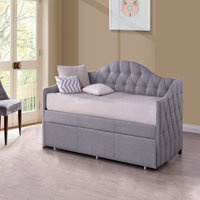 Hillsdale Furniture Jamie Daybed with Trundle, Gray