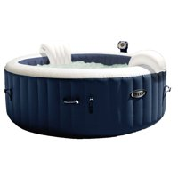 Intex 28405E Pure Spa 4-Person Home Inflatable Portable Heated Bubble Hot Tub