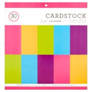 Colorbök Cardstock Smooth Cardstock 6 Sheets of Each Color, 30 count