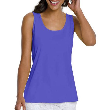 Women's Basic Essential Tank (Solid Ribbed Tank)