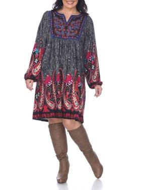 Brown Plus Size Dresses