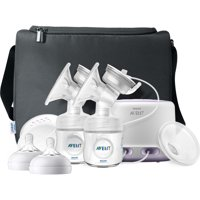 Philips Avent Double Electric Breast Pump + Bonus Power Cushion, SCF334/22