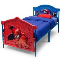 Marvel Spider-Man 3D Plastic Twin Bed by Delta Children