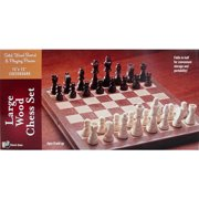 Large Wooden Chess Set,  Entertainment by Go! Games
