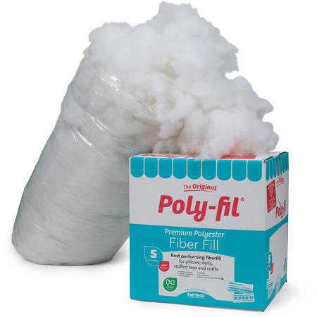 Poly-Fil Premium Fiber Fill - 5 lb. Box