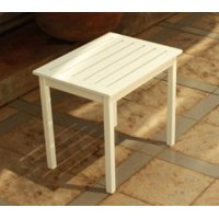 Mainstays Side Table, White
