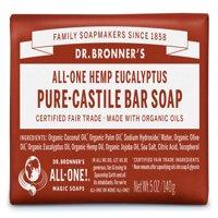 (3 pack) Dr. Bronner's Eucalyptus Bar Soap