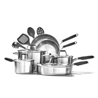 Select by Calphalon Stainless Steel 14-Piece Deluxe Cookware Set