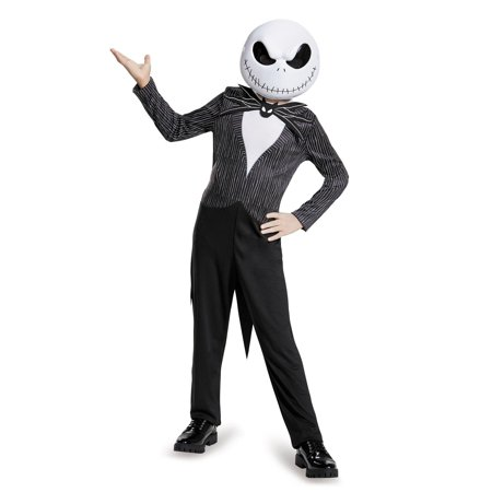 Nightmare Before Christmas Jack Classic Child Costume - Jack Skellington Kid Costume