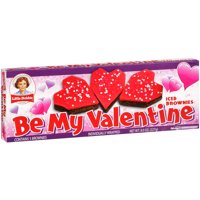 Little Debbie Snacks Be My Valentine Iced Brownies, 5 ct