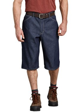 "Men's 15"" Loose Fit Washed Denim Short"