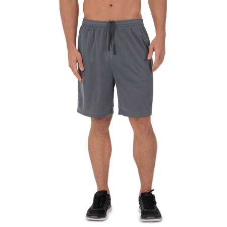 Men's Athletic Works Active Performance Grid Mesh Short