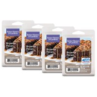 Better Homes & Gardens 2.5 oz Brownie Pecan Pie Scented Wax Melts, 4-Pack