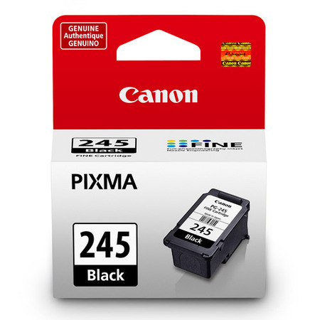 Canon PG-245 Black Inkjet Printer Cartridge Black Apple Printer Cartridge